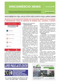 SINCOMÉRCIO CRIA APLICATIVO EXCLUSIVO PARA ASSOCIADOS